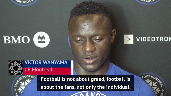 'That's not football' - Wanyama on European Super League plans