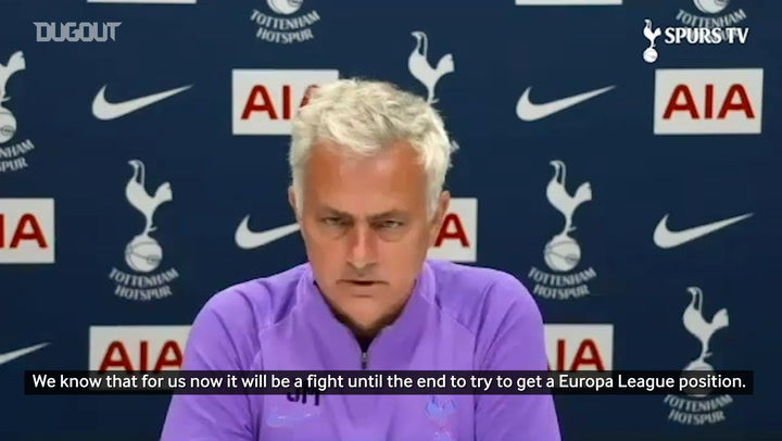 Mourinho: 'Players deserve Europa League qualification'