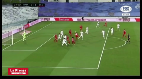 Real Madrid 0 - 1 Sevilla (Liga Española)