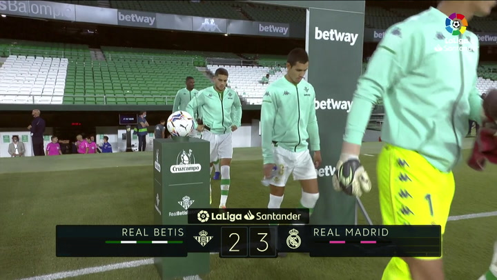 LaLiga Santander (J.3): Real Betis 2-3 Real Madrid