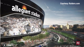 Allegiant Stadium video screen will be largest in Las Vegas – Video