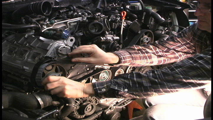 The American Garage Minute- Audi A6 timing belt replacement