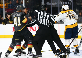 Golden Knights Weigh in on Subban/Bellemare Incident before Saturday's Rematch – VIDEO