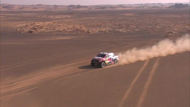 Los mejores momentos de la etapa 8 del Dakar