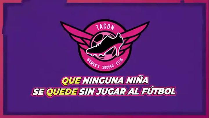 El video del CD Tacón: 'Que ninguna niña se quede sin jugar a fútbol'