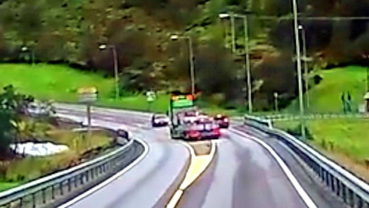 – Føreren i personbilen må ha vært dritredd!