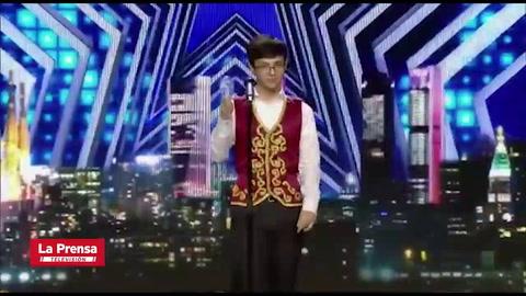 Sampedrano consigue pase dorado de España Got Talent con asombrosa voz
