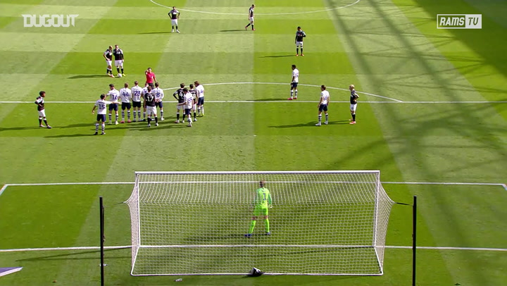 Wayne Rooney curls brilliant free-kick past Preston keeper