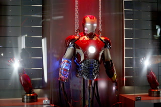 New Avengers S.T.A.T.I.O.N interactive exhibit