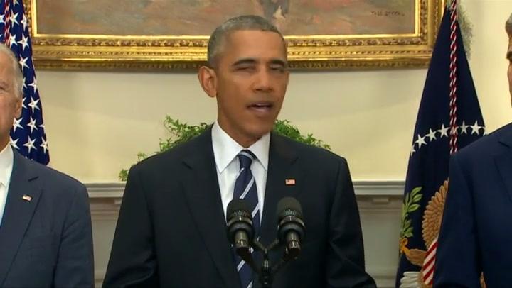 Obama verwerpt plan oliepijplijn Canada en VS