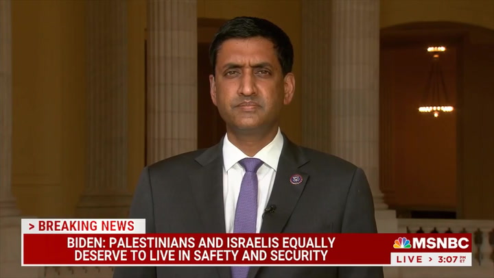 Khanna: Netanyahu Just Trying 'To Hold Onto Power' and U.S. Should Say He Doesn't Have U.S. Support for Further Conflict