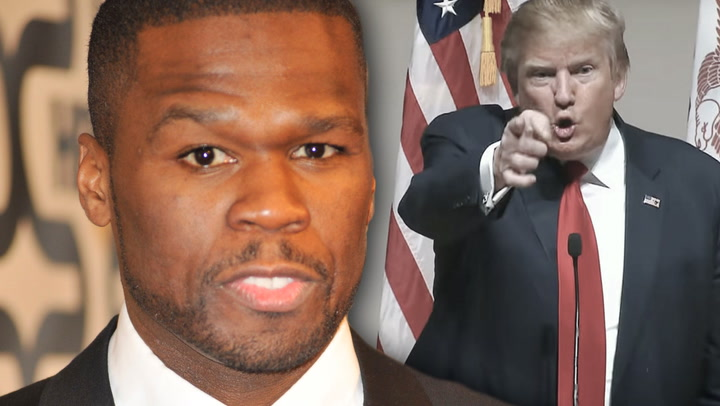 50 Cent Says Vote Trump & Fans Lose Their Minds