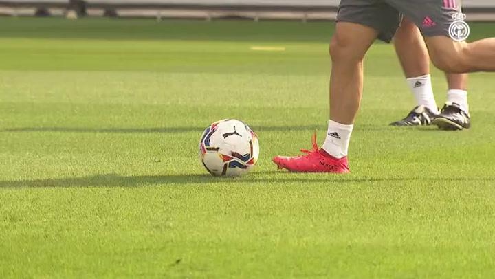El entrenamiento del Real Madrid del 16 de septiembre 2020