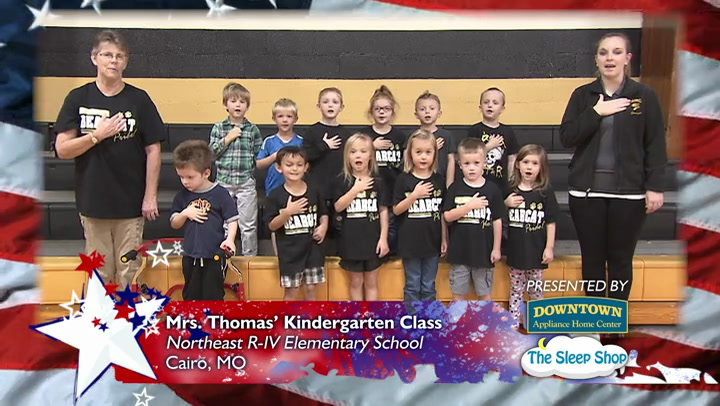 Northeast R-IV School - Ms. Thomas - Kindergarten