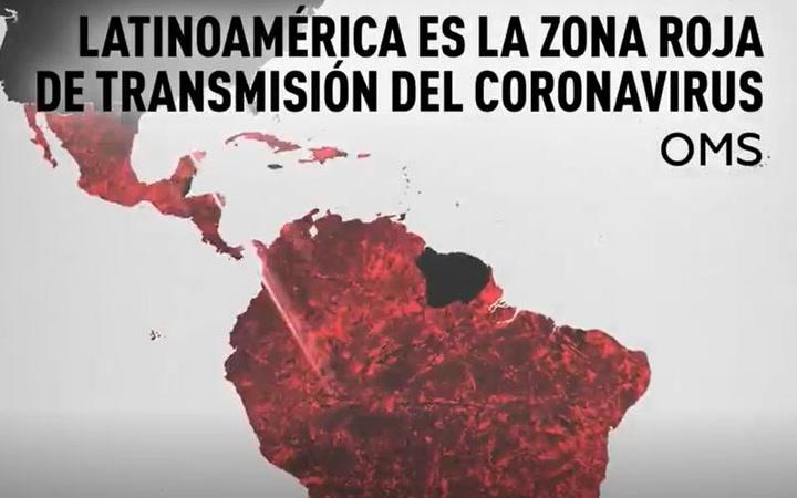 La OMS advierte: América Latina es la zona roja de transmisión del coronavirus