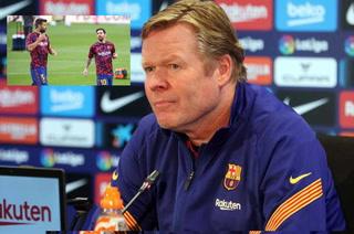 Koeman lo revela: Lo que pasará si pierde la final, el estado de Piqué y Messi y sus miedos ante el Bilbao
