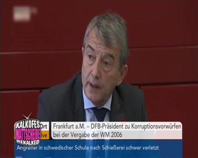 DFB - Wolfgang Niersbach in Erklärungsnot