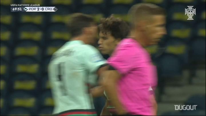 João Félix scores in Portugal's 2020-21 Nations League opener