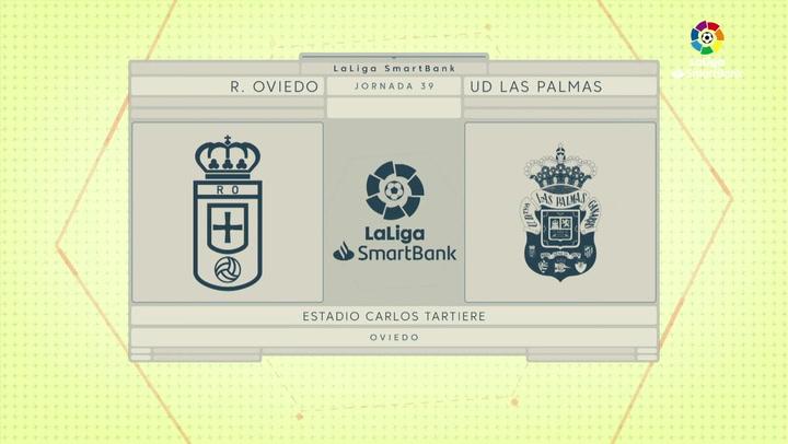 LaLiga SmartBank (J39): Resumen y goles del Oviedo 2-1 Las Palmas