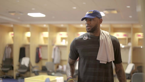 LeBron: NBA Finals, Pre-Game 3 - Part 1