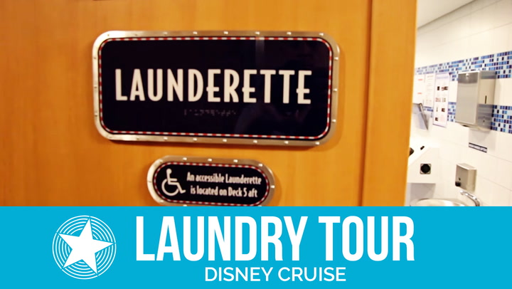 Disney Cruise Laundry Tour