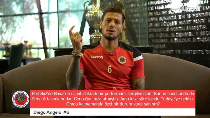 Diego Angelo Özel Röportajı