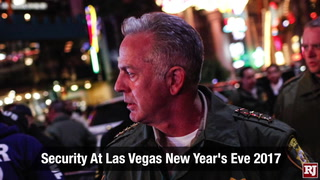 Security At The Las Vegas New Year's Eve 2017