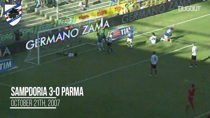 Throwback: Sampdoria silenced Parma in 2007