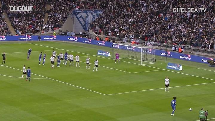 La victoria del Chelsea ante el Tottenham en la final de la Copa de la Liga 2015