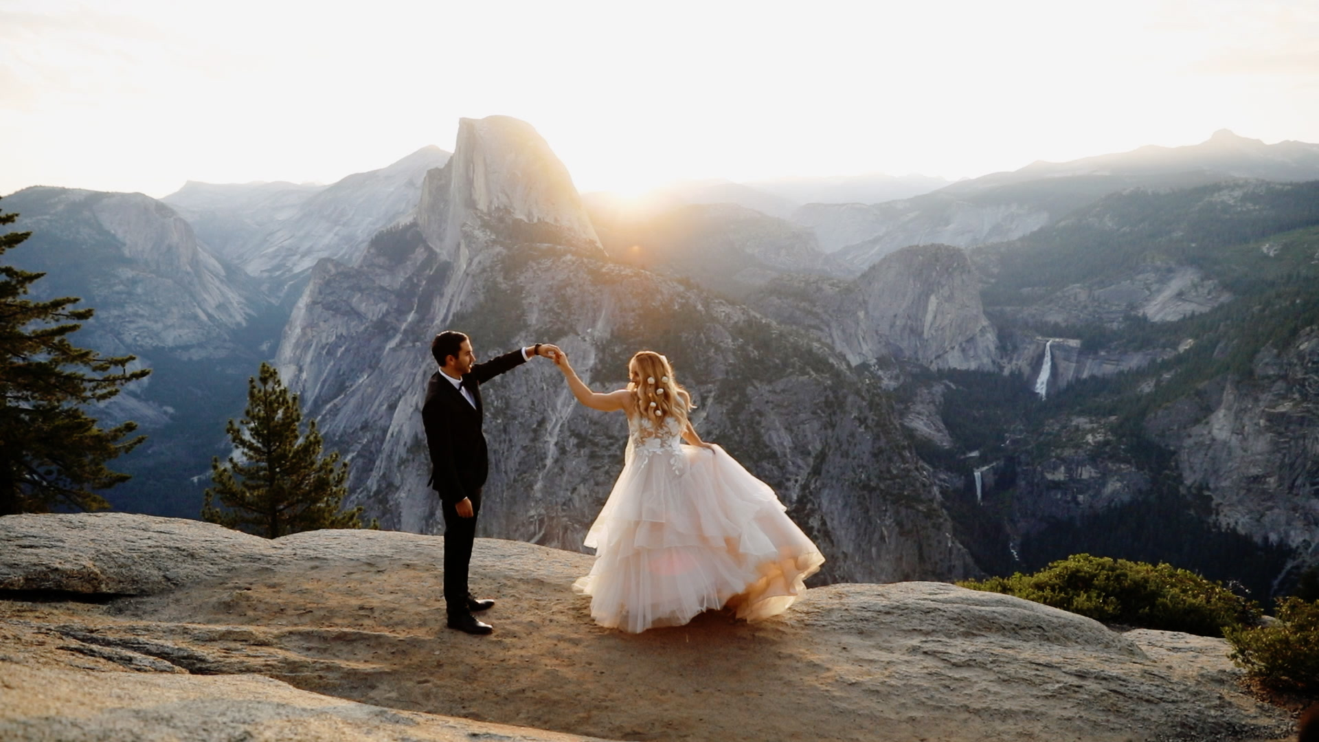 Bridget + Mark | Yosemite Valley, California | Yosemite National Park