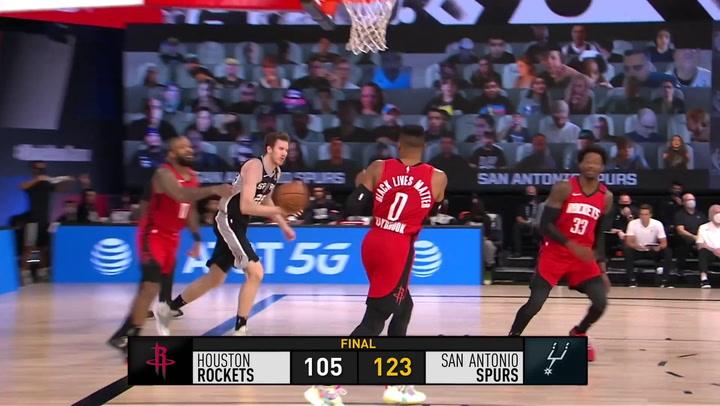 El resumen de la jornada de la NBA del 11 de agosto 2020