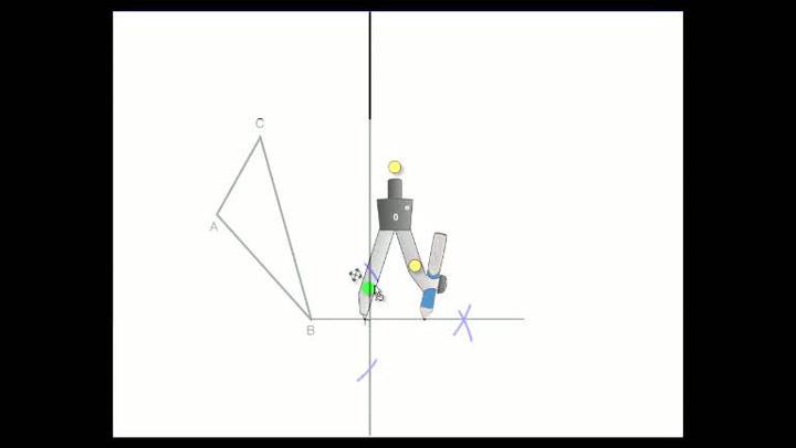 Matte: Hvordan forstå speiling av punkt og mangekant om en linje
