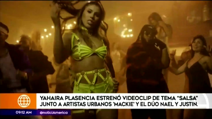 Yahaira Plasencia estrena videoclip de 'Salsa' con 'Mackie' y el Dúo Nael y Justin