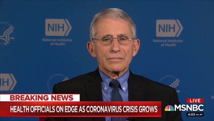Fauci: 'I'm Not Being Muzzled' - The U.S. Will 'See Additional Cases' of Coronavirus