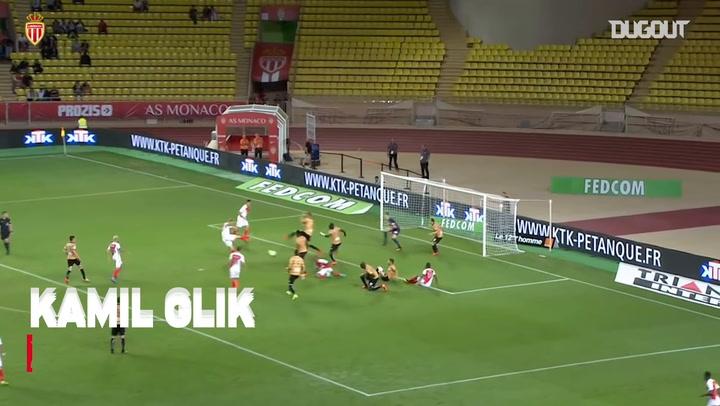 Monaco's top five goals vs Angers