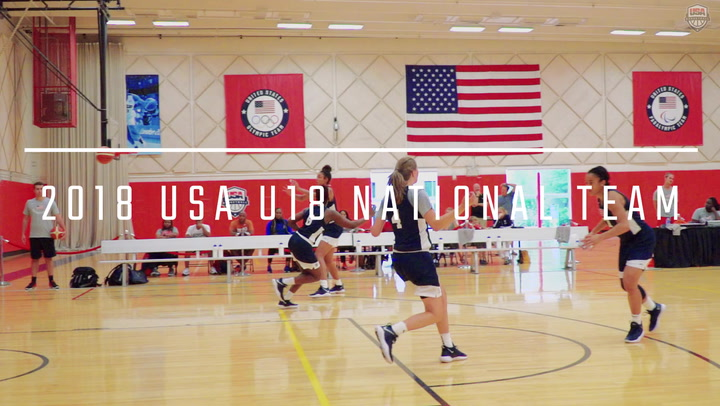 2018 USA U18 Women Full Court