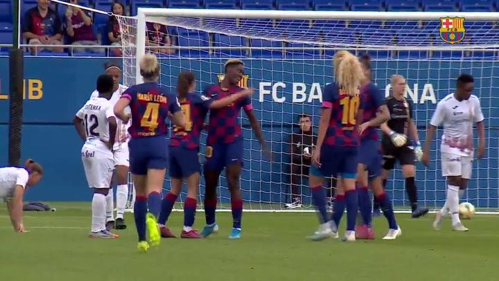El resumen del Barça - EDF Logroño (5-0)