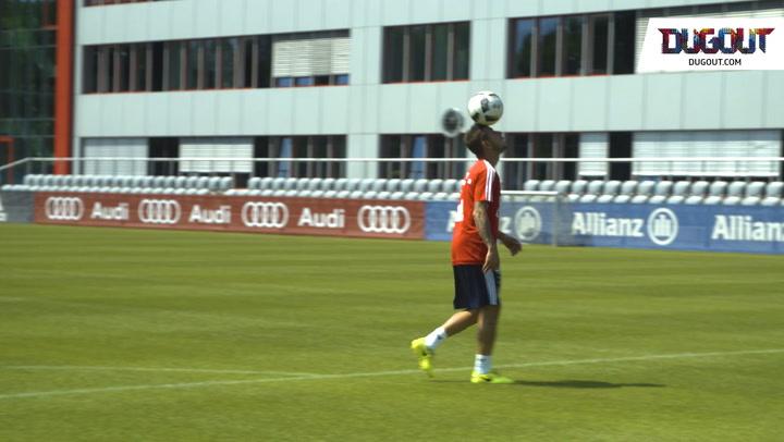Last training session of the season