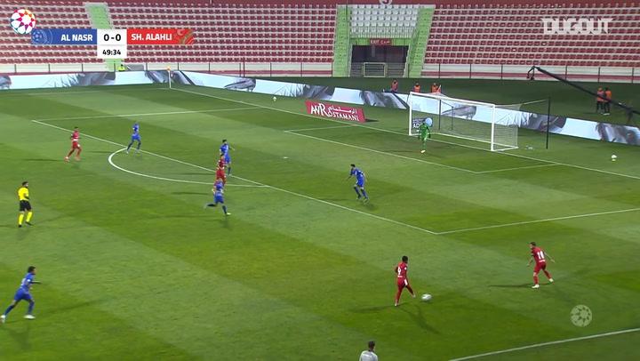 AGL Matchday 13 highlights: Shabab Al-Ahli 1-0 Al-Nasr