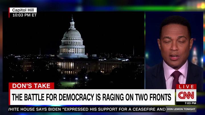 CNN's Lemon: Black Lives Matter, 'White Lies Matter Too' -- GOP Whitewashing Capitol Riot