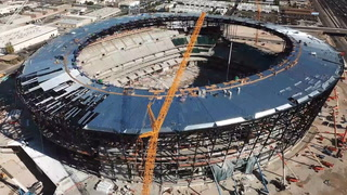 Latest Allegiant Stadium Drone Video And Updates – Video