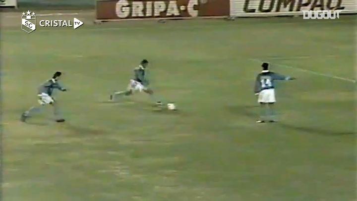 Nolberto Solano's free-kick goal in the 1997 Copa Libertadores quarterfinals