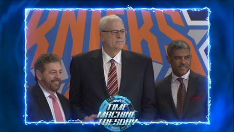 Time Machine Tuesday 2014: Phil Jackson returns to the Knicks
