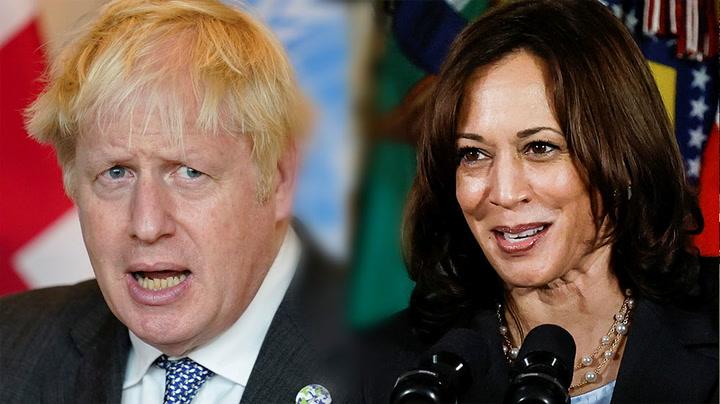 Watch live as Boris Johnson meets Kamala Harris in Washington D.C