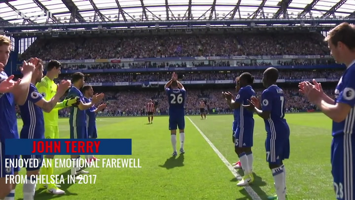 John Terry's emotional Chelsea farewell