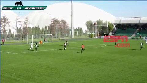 Chancalay hizo un golazo para el triunfo de la Selección Sub 20