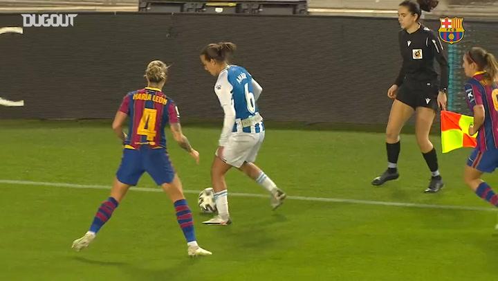 Mariona Caldentey's amazing skill vs Espanyol