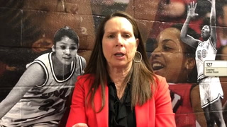 Kathy Olivier talks about the win over UNR