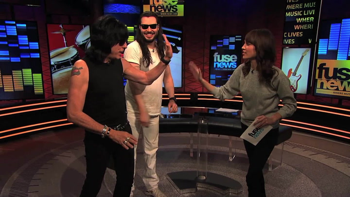 Shows: Fuse News: Fuse News Exclusive: Andrew WK Will Front Marky Ramone's Band!