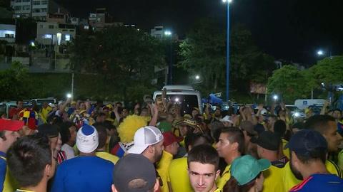 Fiesta colombiana y argentina por el pase a cuartos de final de la Copa América